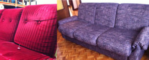 Tapizados en Zaragoza antes y después