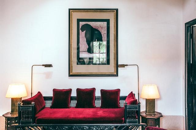 tapizado de muebles con terciopelo