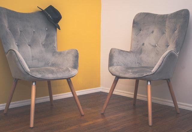 tapizado de mobiliario con terciopelo