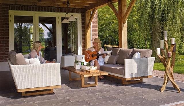 tapizar mobiliario exterior